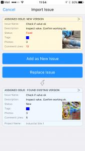 site_report_pro_app_import_issue