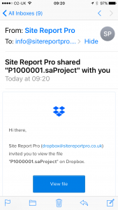 site_report_pro_import_project_dropbox1
